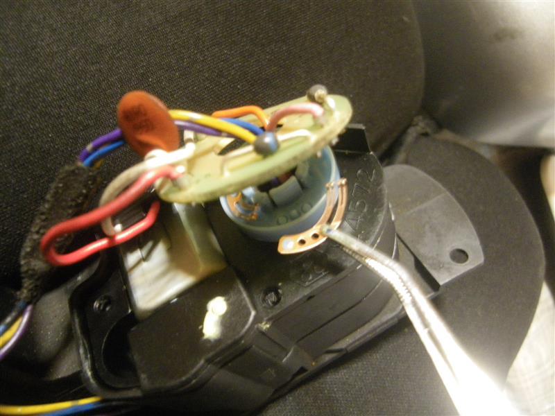 GTRサイドミラー故障修理②