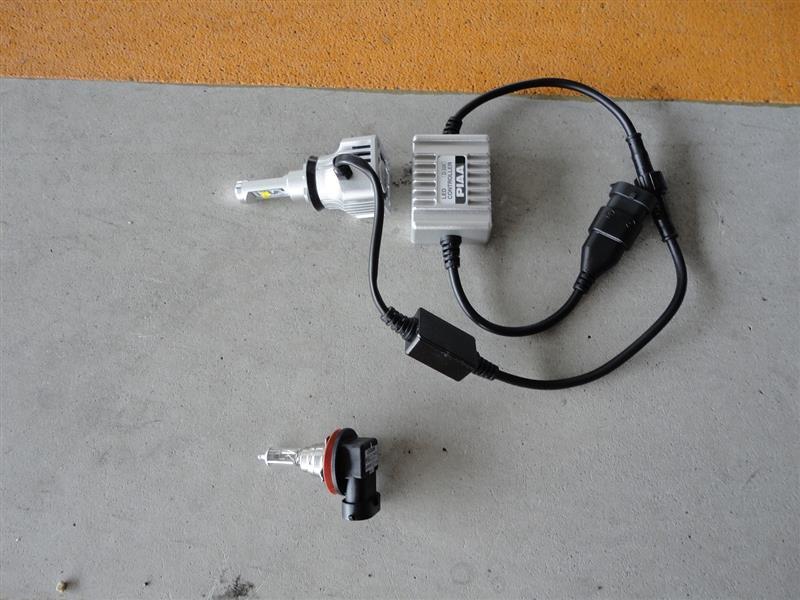 LEDフォグバルブ交換