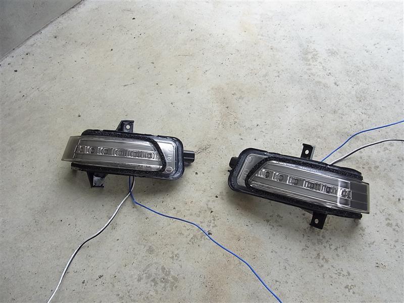 valenti LEDドアミラーウインカー取り付け パート1
