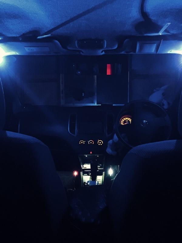 Aピラー LEDイルミ