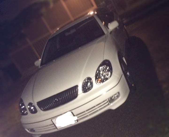 夜な夜な洗車…