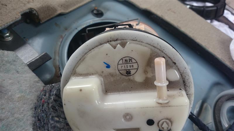 燃料計不具合の解消