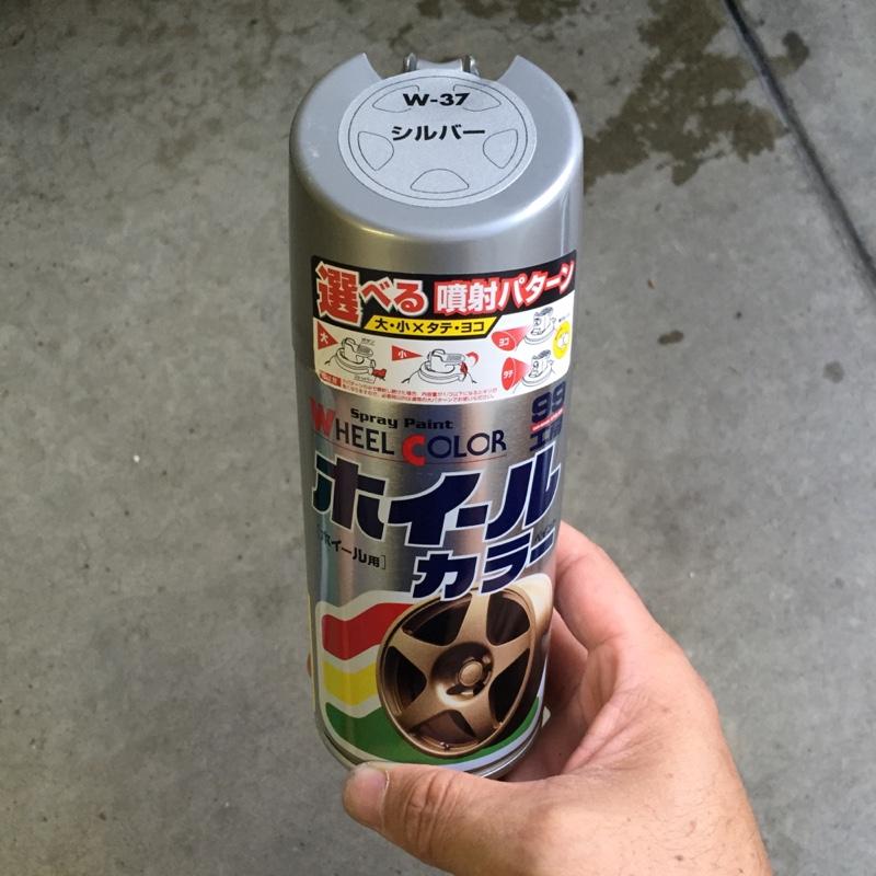 ホイールガリ傷補修(DIY)