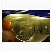 XC90 ヘッドライトコーティング+1層  にて入庫頂ました!の画像
