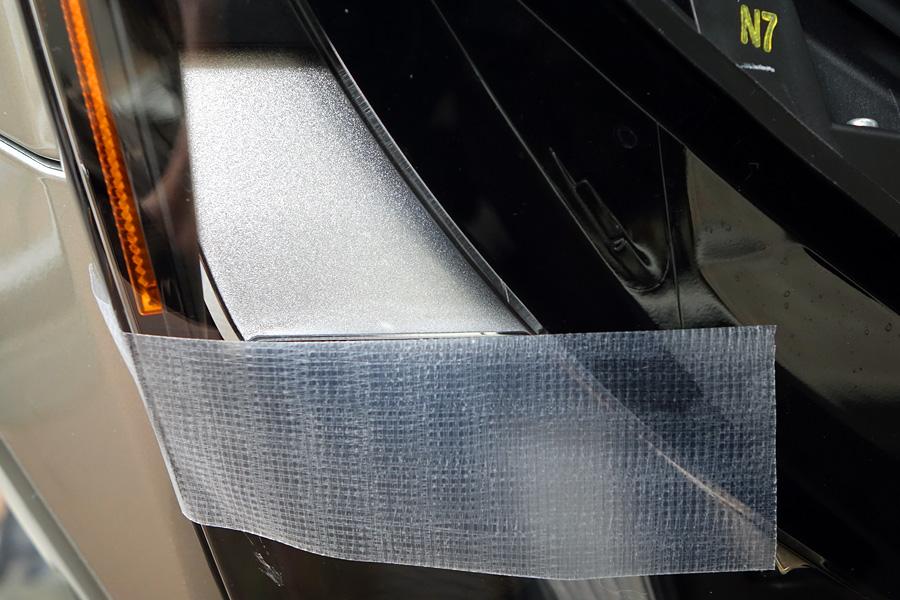 NX 三眼LEDヘッドライト光軸調整
