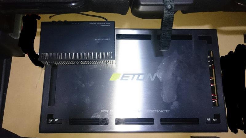 ETON PA800.4 取付