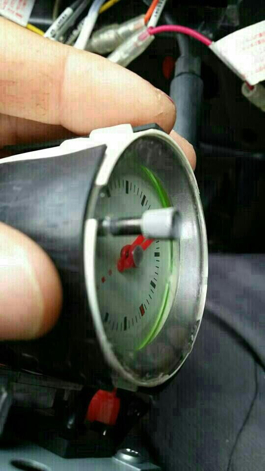 ラパン純正時計取り付け その2