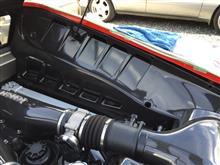 430スクーデリア バックカメラ通線のカスタム手順2