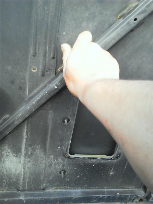 アルミ板があったから(・∀・)インタークーラー導風板造ってみた