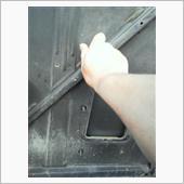 手持ちにアルミ板がありました(・∀・)<br /> <br /> のでまずはターボダクトを外しましょう<br />