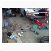 トヨタ RAV4 EV サス交換