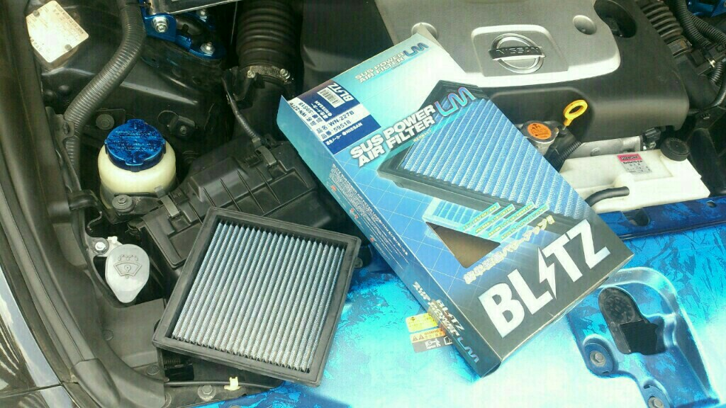 BRITZ SUS POWER AIR FILTER LM
