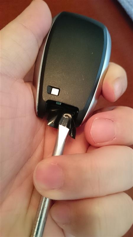 アクセスキーの電池交換