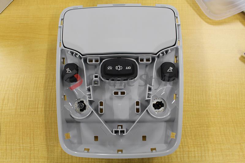 【後編】プリウス 50系 ルームランプ LED ムーンルーフなし車用 【マップランプ】