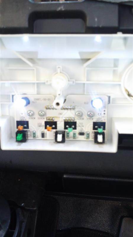 エアコンSW LEDバルブ交換