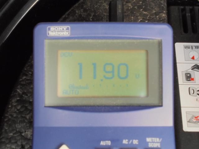 後期テール 入力電圧調査 備忘録