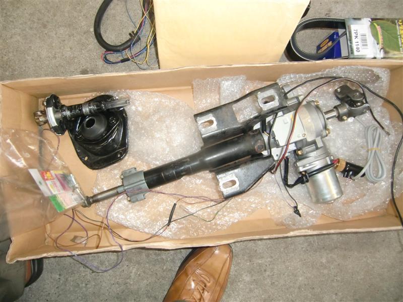 初代セリカ用~電動パワーステアリングに換装