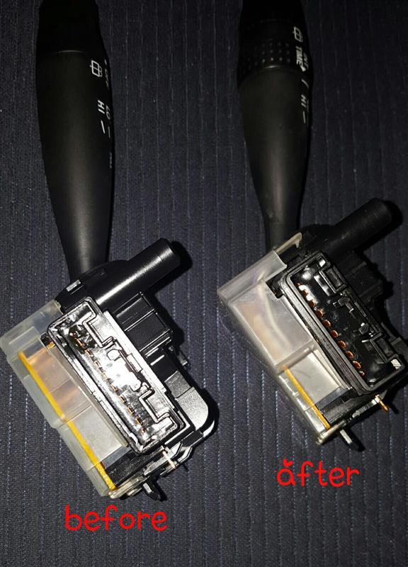 wiper switch Exchange♪