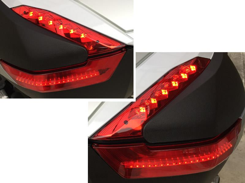 GIVI  トップボックス LED 追加