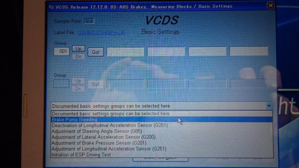 VCDS】ABSエア抜きモード | フォルクスワーゲン ゴルフ