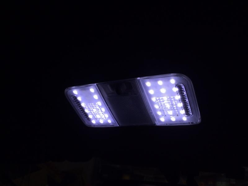 マップランプを明るくしてみる