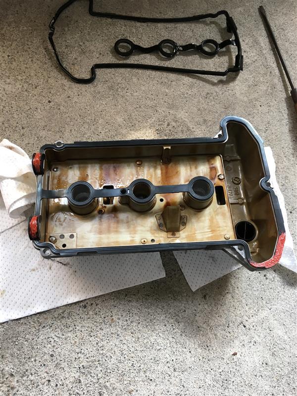 K6Aタペットカバーパッキン交換