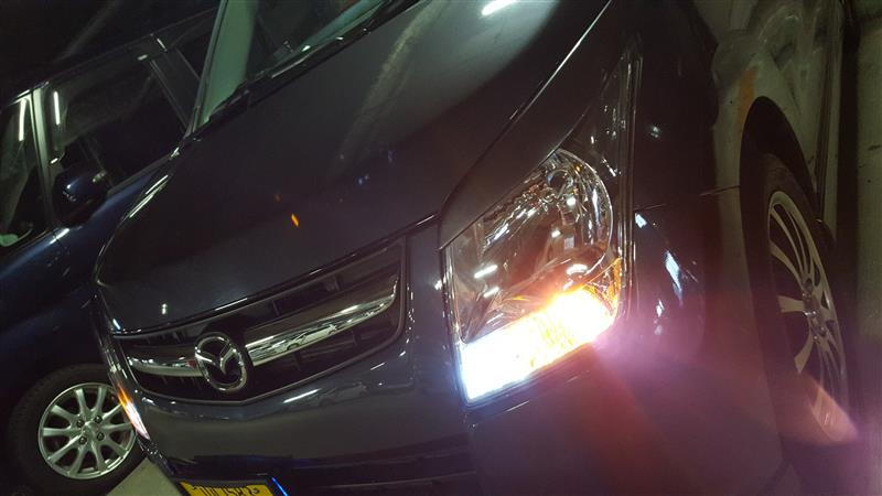 Turn signal positional kit installation♪