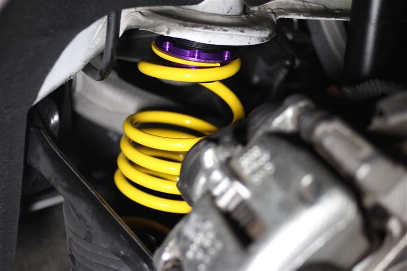 KW Ver.1 車高調整 フロント&リア (Eibachも同じ方法)