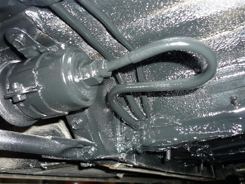 ブレーキ、燃料ライン室内移設(´∇`)