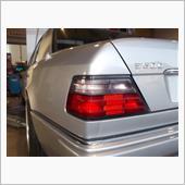 W124 E500 プラグコード交換の画像