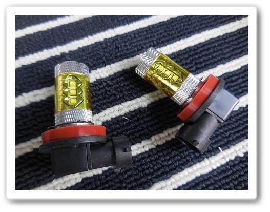 フォグ LEDに交換