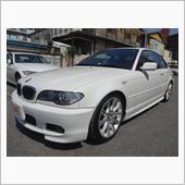 BMW330ci ヘッドライト研磨、クリア塗装です。東京都昭島市よりご来店です。の画像
