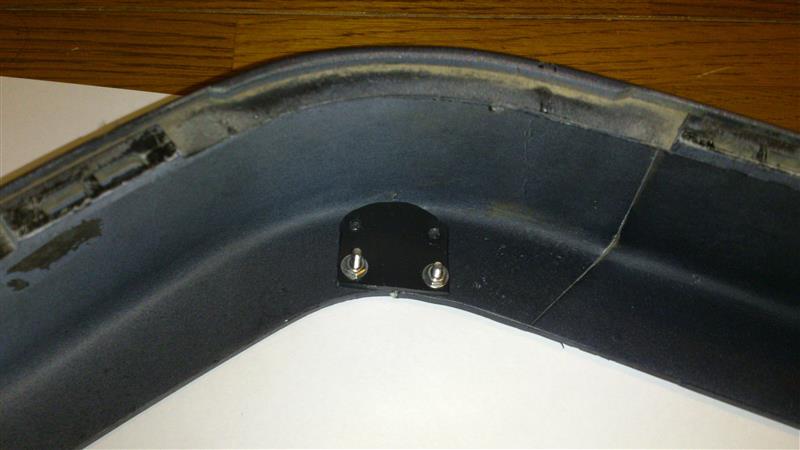 後期型用 純正Sport仕様用フロントスポイラーの取り付け(失敗)