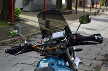 TTR Raid ナビ移設とiPhoneホルダー新設のカスタム手順1