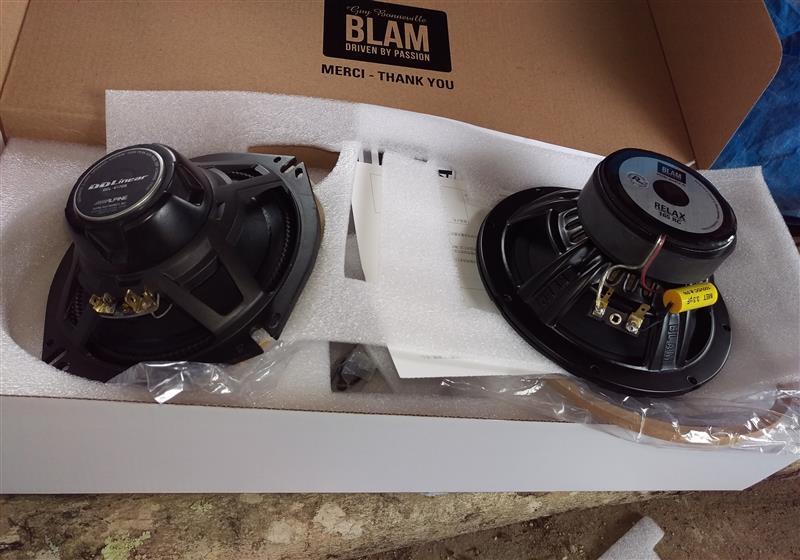 スピーカー交換(BLAM RELAX 165RC)