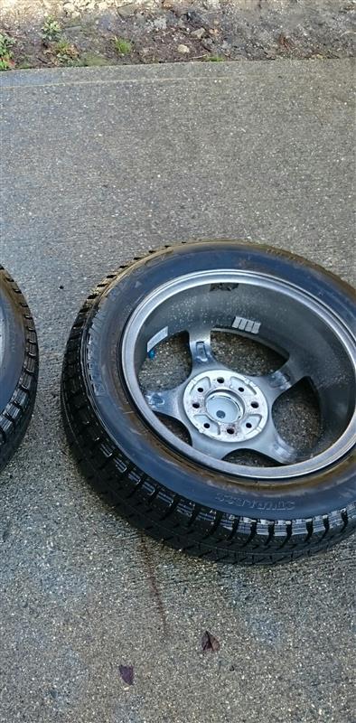 冬用ホイール&タイヤ洗浄