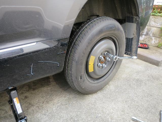 2016.3 タイヤ修理