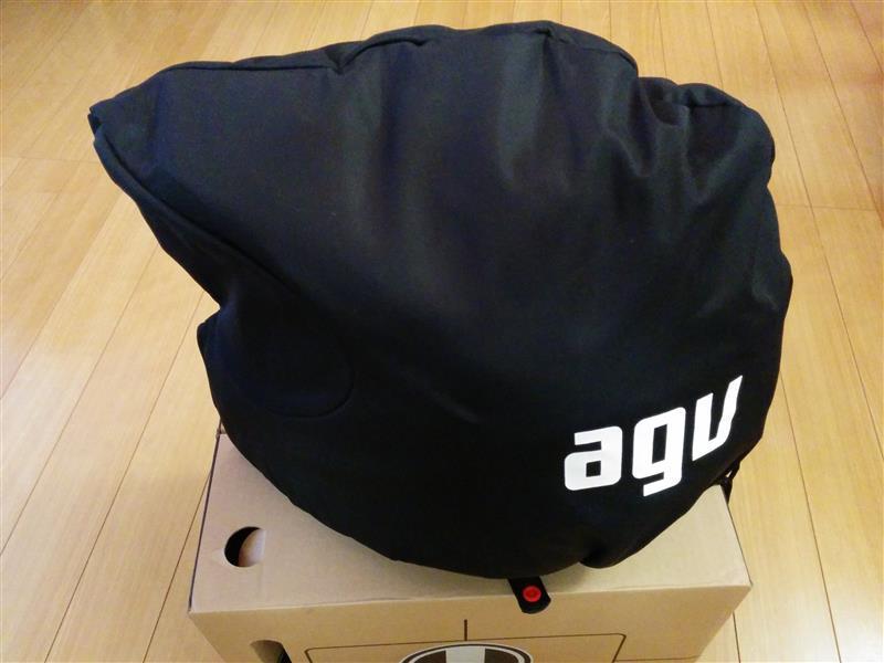 AGV AX-8 DUAL CARBON  CARBON MATT 受入検査!