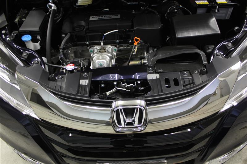 Honda SENSING装備車に無限グリル装着
