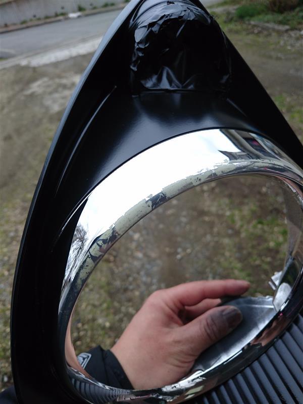 ヘッドライト インナーブラック化