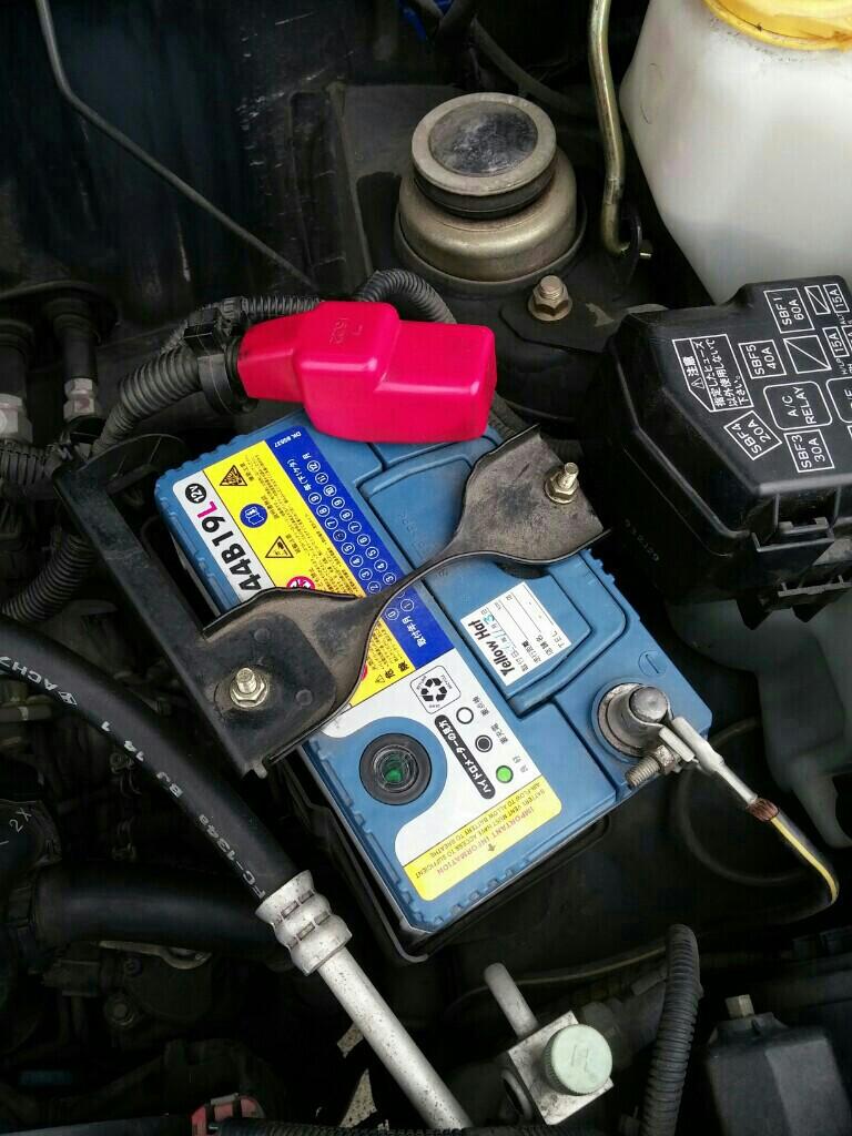 バッテリーステー交換