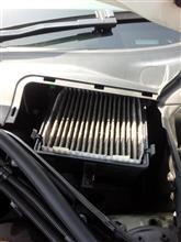X3 マイクロ フィルター(外気)交換のカスタム手順2