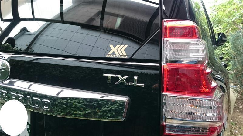 TX-Lエンブレムに交換