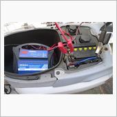 バッテリ補水と充電