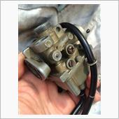 QR50V キャブレターガスケット交換(その2)