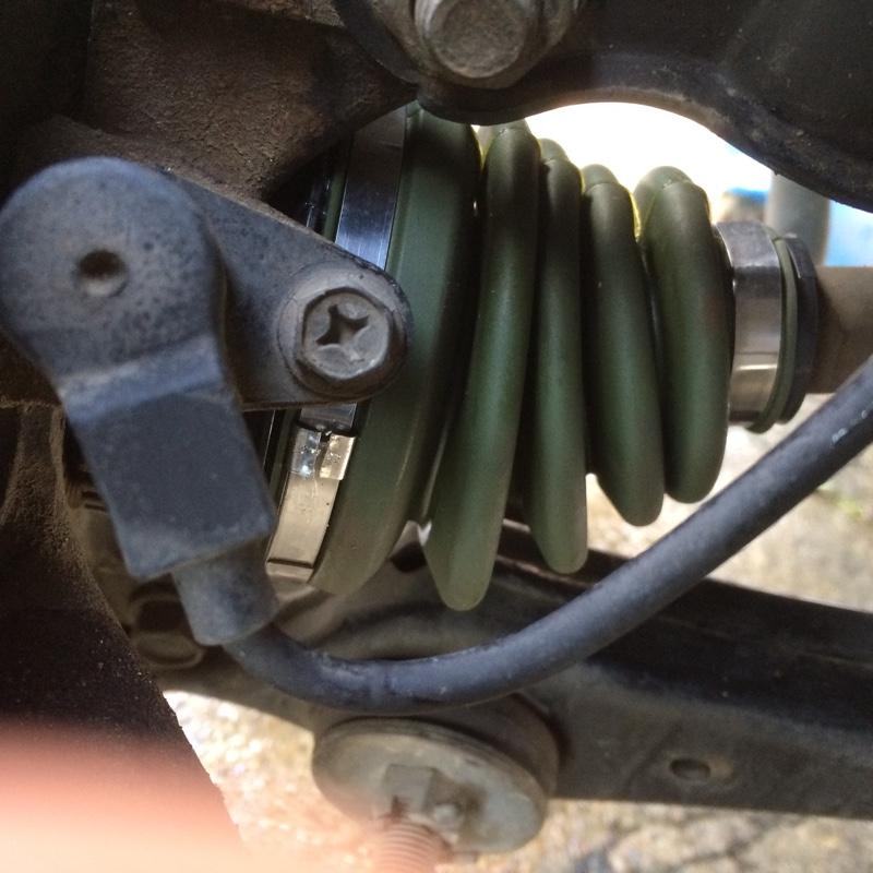 ワゴンR ドライブシャフトブーツ交換