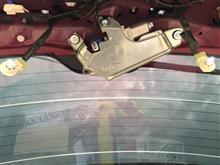 フォレスター ナンバー灯交換のカスタム手順2