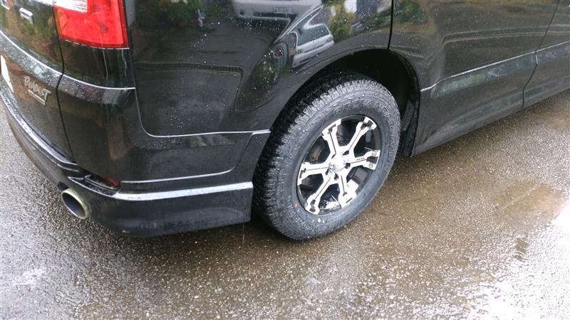 タイヤとホイール交換