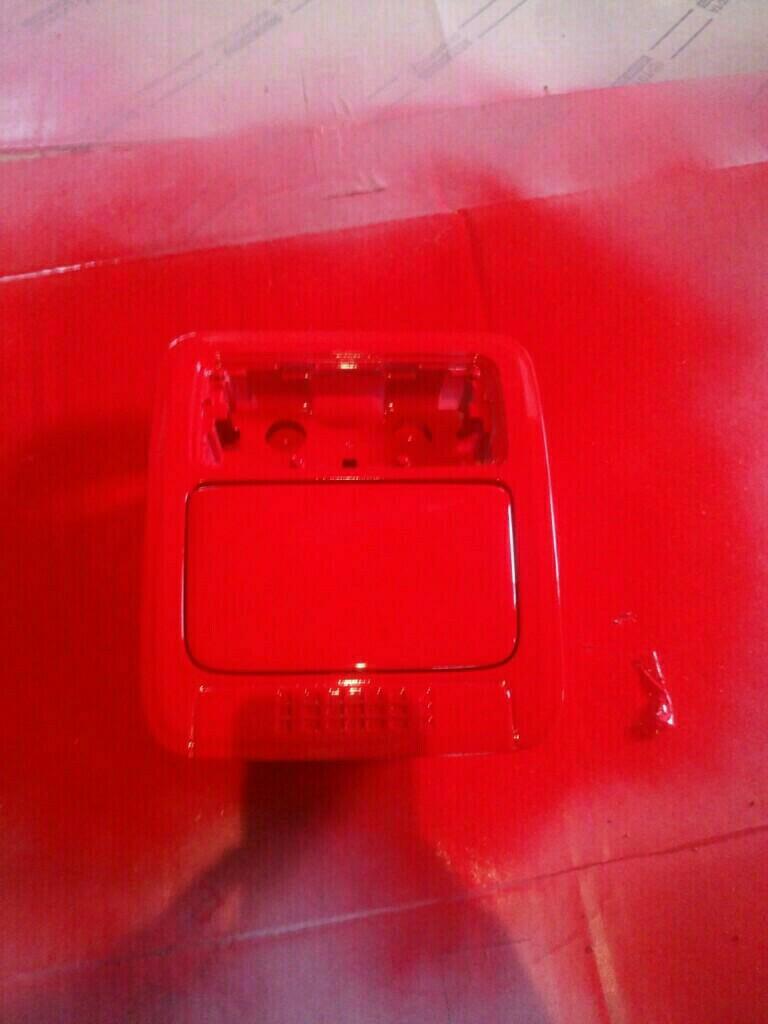 オーバーヘッドコンソール塗装