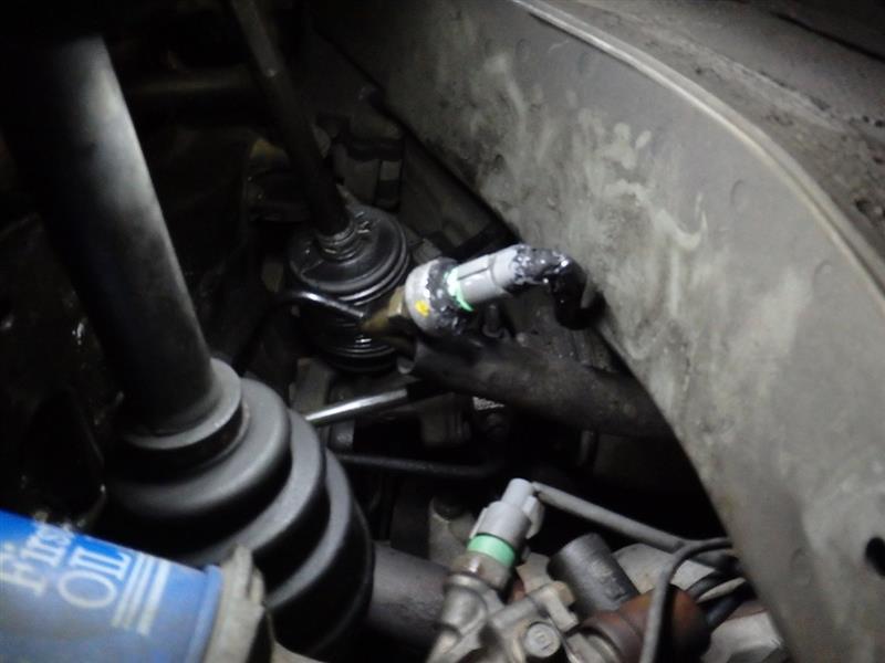 パワステオイル漏れ補修